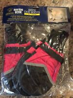 GUARDIAN GEAR XX-LARGE RED & BLACK ABRASIVE SURFACE LINED Dog Boots
