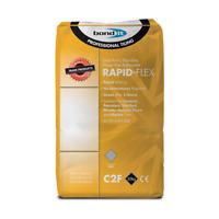 20kg Rapid Flexible Set Tile Adhesive Floor & Wall Tile Grey Bond It Rapid-Flex