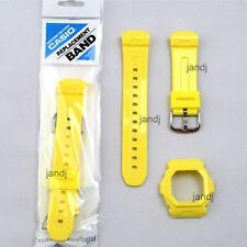 ORIGINAL CASIO BABY-G REPLACEMENT BAND & BEZEL for BG5602-9V BG-5602-9V, YELLOW