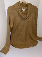 Style & Co Women's Petite Cowlneck Sweater Brown Size Extra Large