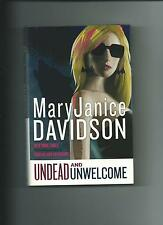 Undead and Unworthy By MaryJanice Davidson New Hardcover Queen Betsy