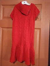 Gymboree girls red Sweater dress size 8 nwt