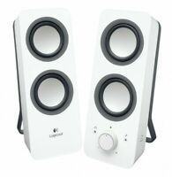 Logitech Z200WH (White) Multimedia Speaker Logicool Z200 With Tracking