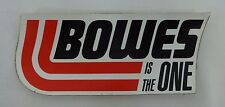 Bowes Is The One Decal Indianapolis 500 IndyCar Nascar USAC Bowes Seal Fast