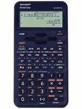 Sharp EL-W531 WriteView Blue School Scientific Calculator