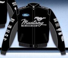 Mustang Multi-Logo Jacket (Script Style) Black - Last Ones!