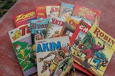 lot de 12 bandes dessinées de poche