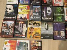 CD Und DVD Konvolut. Filme Musik Til Schweiger Halloween Tote Hosen Sportfreunde