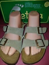 Betula by Birkenstock Women's Suede Taupe Sandals -Eur 37 -US 6- New With Box