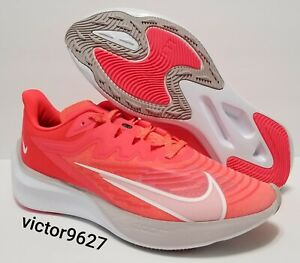 Nike Zoom Gravity 2 Running Shoes Pink White CK2569-600 Womens Size 11=Mens 9.5
