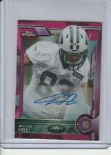 AUSTIN HILL BCA PINK REFRACTOR MINI RC AUTO #/50 2015 TOPPS CHROME AUTOGRAPH