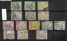 Federated Malay States, 1900 Tigers with shades, wmk Crown CA, used (M435)