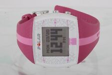 POLAR FT4 HOT PINK LADIES HEART RATE MONITOR WRIST WATCH 7638