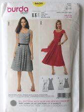 Burda 6638 Women's Dress Sewing Pattern Uncut Size 8 to 18