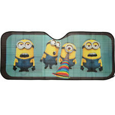 Cute Minions Cartoon Car Sun Shade for Front Windshield - Keep Car Cool