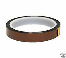 New 10mm Kapton Polyimide Heat Resistant/High Temperature Adhesive Tape