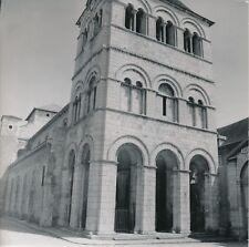 ÉBREUIL c. 1960 - 4 Photos Église Abbatiale Saint-Léger Allier - L 177