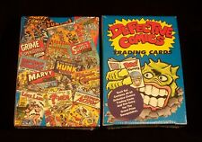 DEFECTIVE COMICS Trading Cards Complete Set - Parody  Limited