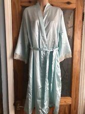 Women's Ladies Dressing Gown Mint Size L/XL Uk 14 16
