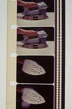 PROCTOR-SILEX SUPER STEAM IRON COLOR 16MM FILM MOVIE ROLLED NO REEL C67