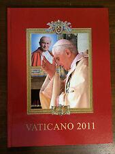Vaticano 2011 Philatelic Year Book- Vatican