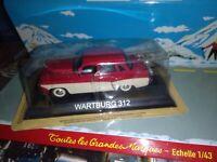 WARTBURG 312 LEGENDARY BALKAN CARS DEAGOSTINI IXO 1/43 NEUF BOITE