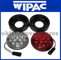 LAND ROVER DEFENDER LED FOG & REVERSE LIGHT / LAMP + PLUGS UPGRADE KIT SET