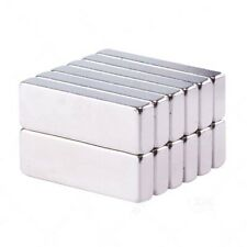 2x Strong Square Rare Earth Neodymium Magnets Craft Hobby Magnetic Diy 30x10x5mm