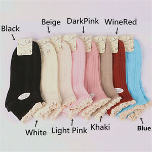 Colorful Lady Girl Solid Color Breathable Bamboo Fiber Free Size Ankle Socks