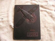 """1944 """"Yucca"""" Los Angeles Pacific College Yearbook"""