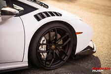 Lamborghini Huracan Front Vented Carbon Fiber Fenders 2014-19 LP-580