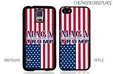 Donald Trump MAGA American Flag Phone Case for Apple or Samsung Phone Case Cover