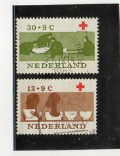 Holanda Cruz Roja Valorrs del año 1963 (CP-42)
