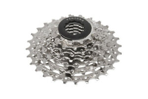 Shimano Compatible Cycle Ventura 7 Speed Cassette Silver - 12-28T & Chain Pack