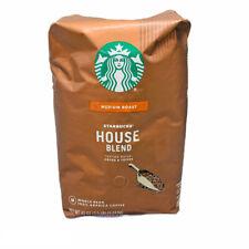 Starbucks House Blend Medium Roast Whole Bean Coffee 40 Oz/2.5 LB /1.13kg