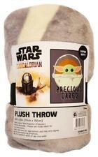 "New Disney Star Wars Mandalorian 46"" x 60"" Plush Throw Blanket"