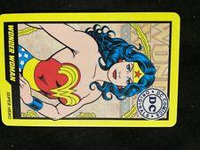 New listing wonder woman comic card