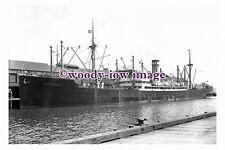 rs0258 - Hamburg Amerika Cargo Ship - Hochst , built 1927 - photograph