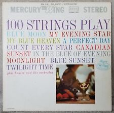 "100 STRINGS PLAY Phil Boudet + His Orchestra (SRW 16143) 12"" Vinyl 33 LP VG+"