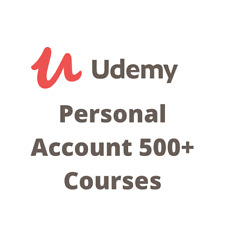 Udemy Account with 500+ Courses
