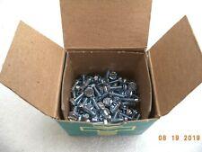(100/Box) 6/32 X 3/8in Zinc Indented Hex Slot Washer HD Machine Screws CCP66012