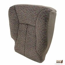 1998-2002 Dodge Ram 1500 2500 3500 SLT -Driver Bottom Cloth Seat Cover MIST GRAY