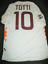 Authentic Totti As Roma Kappa 2011 2012 Jersey Maglia Italy Italia Shirt XL