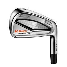 LH Cobra Golf King Forged Tec Iron Set 4-GW Stiff Flex Graphite Shafts