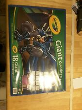 071662200459 Crayola Giant Coloring Pages 18 Batman 12 X 19 Inchex