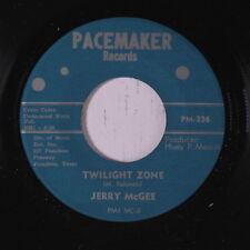 JERRY MCGEE: Twilight Zone / I Wonder? 45 Oldies