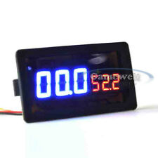 100V 100A DC Digital LED Amp Volt Combo Meter With Shunt for HHO EV car Solar #1