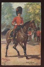 Military COLDSTREAM GUARDS ORIGINAL Harry Payne PPC 1917