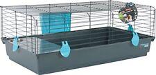 Cages bleus lapin pour petit animal et rongeur