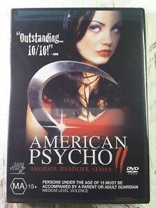 American Psycho 2 (DVD, 2002) MILA KUNIS - Region 4 Aust - Horror Thriller